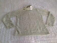 NWT Reference Point Sweater Champagne Combo Size Large TAC