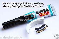 CANON AF PROGRAMMABLE Chip. FOCUS TRAP. Kit:Samyang/Rokinon/Bower/Walimex/Opteka