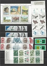 Sweden 2 pages sheets and booklets mnh