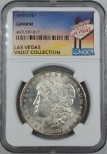 1878-S Morgan Dollar NGC Genuine Las Vegas Vault Collection Home of Binion