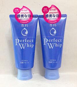 Shiseido Perfect Whip Washing Foam Senka Face Cleansing 120g  x 2
