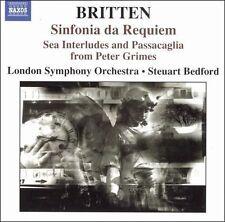 NEW Britten: Sinfonia Da Requiem / Sea Interludes / Passacaglia (Audio CD)