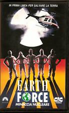 Earth Force   Minaccia nucleare (1990)  VHS CiC  JOANNA PACULA BILL  CORCORAN