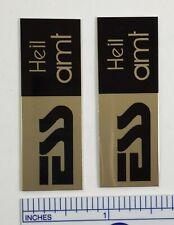 ESS Heil AMT Speaker Badge Logo Emblem
