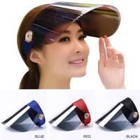 Women Visor Sun Cover Hat Anti-UV Cover Cap Face Shield Cap Cover Travel Tool