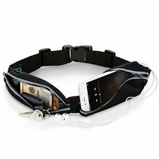 Running Belt for Phone: iPhone & Samsung Galaxy Waterproof Adjustable Fanny Pack