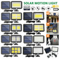 120 LED Solar Lights PIR Motion Sensor Light Outdoor Security Flood Garden Lamp