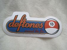 Words Deftones Car Sticker Window Door JDM Laptop Skate Surf  Vinyl Decal