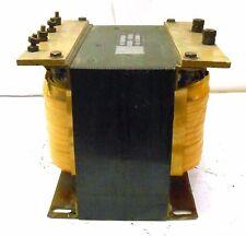 TRANSFORMER INC, 7.5 KVA TRANSFORMER, PRI 480/240 VOLTS