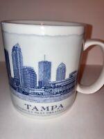Starbucks Tampa Next Greatest City Architecture Series 2008 Coffee Mug 18 oz
