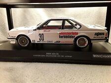BMW 635 CSI * Schnitzer Team #30 * Danner Bellof * ETCC 1983 * 1:18 Minichamps