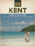 KENT cigarettes  - 1982 Vintage Print Ad