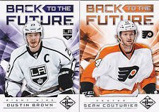 12-13 Limited Sean Couturier Reggie Leach /199 Back To The Future Flyers 2012