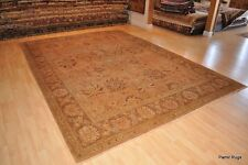 TOP QUALITY PERSIAN Handmade 9' X 12' Muted vegetable dye chobi hand knotted rug