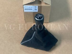 BMW Genuine F30 F32 F33 3 4-Series M Performance Shift Knob With Alcantara Boot