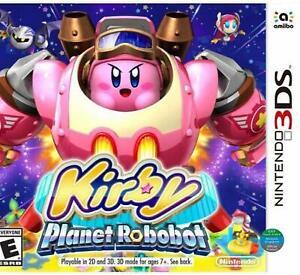 Kirby Planet Robobot - Nintendo 3DS - World Edition