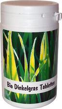 SANOS  Bio Dinkelgras Tabletten, 200g  / 500 Tabletten aus eigenem Anbau