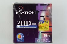 Imation 2HD 1.44 MB 3.5 IBM Formatted Diskettes 10 PACK NEW