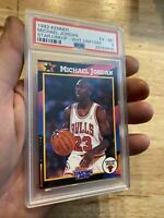 Michael Jordan PSA 6 Starting Lineup Collector Card 1992 Kenner INVEST Man Cave