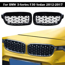 For BMW F30 F31 3 Series Kidney Grill Grille Cover Diamond 2012-2017 Protector