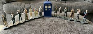 Doctor Who Figurine Collection - Set of Doctors 1 -12 plus the War Doctor