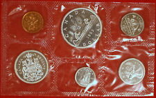 1963 CANADA MINT SET SILVER (PROOF LIKE) ISSUED BY THE ROYAL CANADIAN MINT