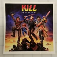"""Large KISS """"KILL"""" Destroyers Horror Decal (5"""" x 5"""") *FREE SHIPPING*"""