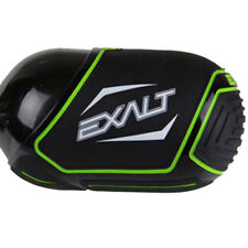 Exalt Paintball Tank Cover - Medium 68-72ci - Black / Lime