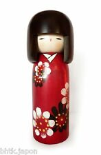 小芥子 KOKESHI DOLL - HANA GURUMA - Poupée japonaise fait main - Made in Japan