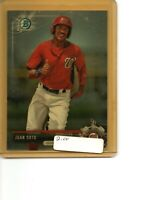 2017 Bowman Chrome Prospects #BCP-180 Juan Soto Washington Nationals