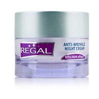 Regal Night Cream Anti-Wrinkle with Hyaluronic Acid Jojoba Oil ARGIRELINE 45ml