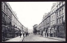 Printed Postcard Pembridge Gardens Notting Hill West London W2 Houses Road PC