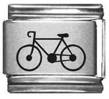 Clearly Charming Bicycle Laser Italian Charm