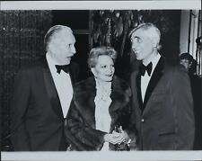 Vicente Price, Coral Browne, Sony Fox ORIGINAL PHOTO HOLLYWOOD Candid