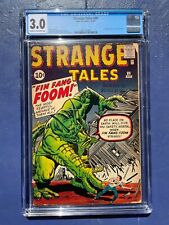 STRANGE TALES 89 CGC 3.0 CR/OW PAGES FIN FANG FOOM!!