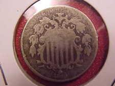 New listing 1869 Shield Nickel - Porous - G - See Pics! - (X2225)