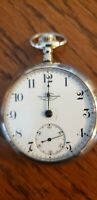 18S Ball Elgin 333 Open Face Railroad Standard Pocket Watch 17J Sapphire Pallets