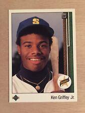 1989 Upper Deck Ken Griffey Jr. Rookie RC #1 CENTERED