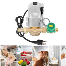 90W Self Priming Domestic Shower Pressure Water Booster Stainless Pump Miniature