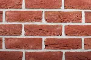 Pack Of 300 - Genuine Handmade Facing Brick - Cottage Soft Red - 65mm
