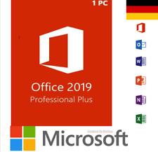 MS Office 2019 Professional Plus Produkt Genuine Key For License, Lifetime