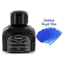 Diamine Fountain Pen Bottled Ink, 80ml - Royal Blue
