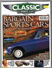 Classic & Sports Car Magazine February 1999 MBox1097 Bargain Sport Cars