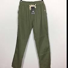 NWT Xing Long Girls' Linen Pants Green Size L