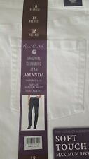 GLORIA VANDERBILT Women's  White  Jeans Sz. 18 Average New w/tags