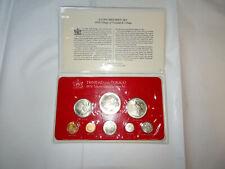 Franklin Mint Trinidad and Tobago 1974 Uncirculated Specimen Set - Scarce