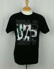 Cypress Hill Roll It Light It Black T Shirt Size M Medium Concert Tour Band Tee