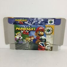 Mario Kart 64 Player's Choice BOX ONLY! ( Nintendo 64 ) N64 NO GAME INCLUDED!