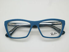 NEW Authentic Ray Ban RB 5316F 5391 Matte Blue 53mm RX Eyeglasses
