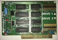 Apple 20-pin Disk II Interface Card for Apple II, II Plus (II+), IIe - Free Ship